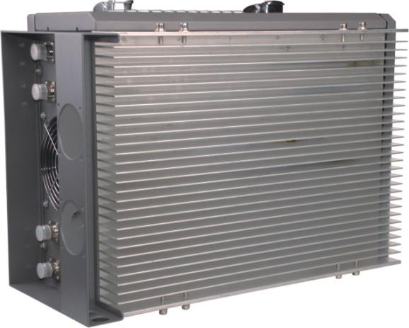 Side Heat sink view 210W Prison Jammer