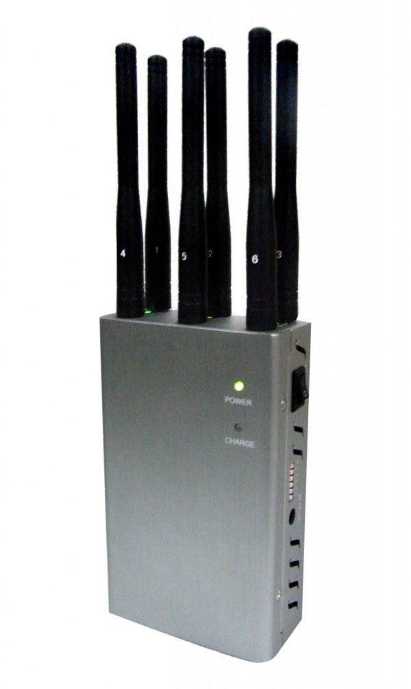 4G Portable Cell Phone Jammer