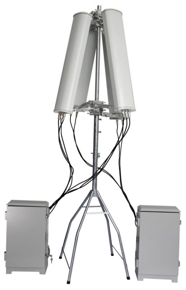 Two Units with 4 Antennas and Stand