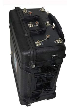 Unit Built-In to Pelican Case